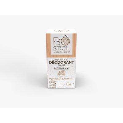 recharge déodorant solide lait d'amandier - BÔ - Hygiène