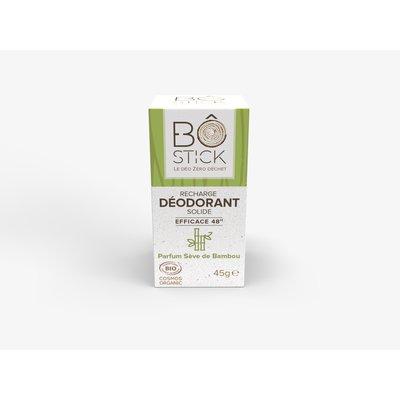 recharge déodorant solide sève de bambou - BÔ - Hygiène