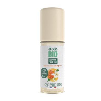 Déodorant roll-on miel-fleur d'oranger - JE SUIS BIO - Hygiène