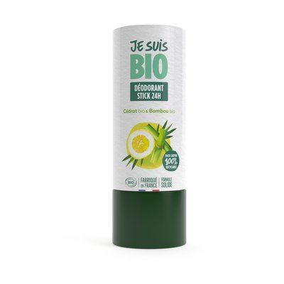 déodorant stick cédrat-bambou - JE SUIS BIO - Hygiène