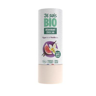 déodorant stick figue-vanille - JE SUIS BIO - Hygiène