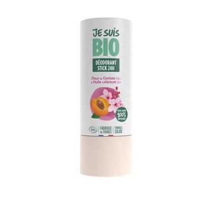 déodorant stick fleur de cerisier-huile d'abricot - JE SUIS BIO - Hygiène