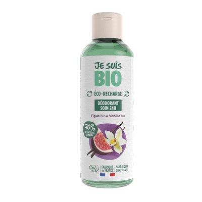 Eco-recharge déodorant figue-vanille - JE SUIS BIO - Hygiène