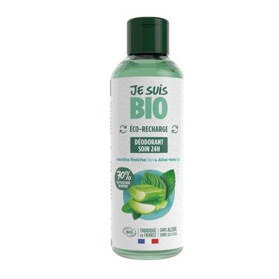 eco-recharge déodorant menthe fraîche-aloe vera - JE SUIS BIO - Hygiène