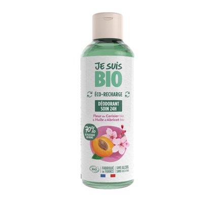 eco-recharge déodorant fleur de cerisier-huile d'abricot - JE SUIS BIO - Hygiène