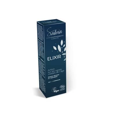 Elixir anti-âge - Salvia Nutrition&cosmétiques - Visage