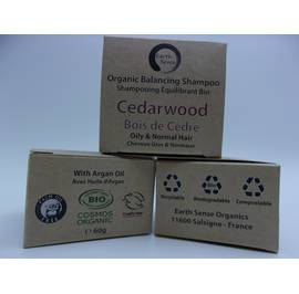 Balancing Solid Shampoo - Cedarwood - Oily & All Hair Types - Earth Sense - Hair