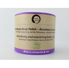 Body Polish Exfoliant - Lavender & Rosemary - Earth Sense - Body