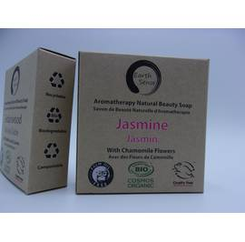 Solid Soap - Jasmine with Chamomile Flowers - Earth Sense - Hygiene
