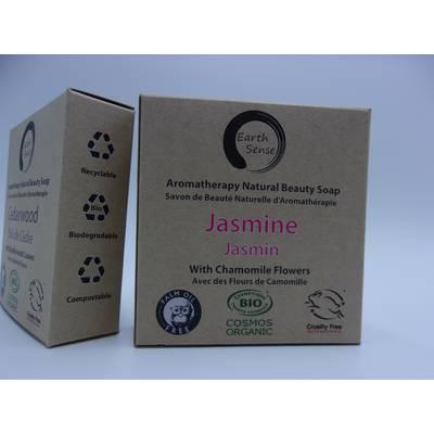 Solid Soap - Jasmine with Chamomile Flowers - Earth Sense - Hygiene