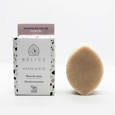 Shampoing Solide Matin D'Été - Bélice - Cheveux