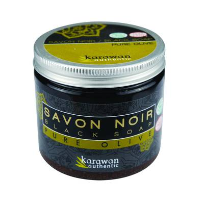 Savon noir pure olive en pot - Karawan authentic - Hygiène
