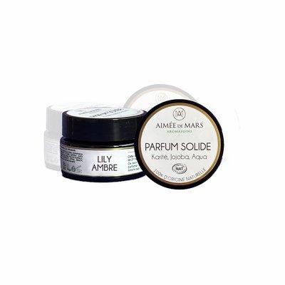 Parfum solide Lily Ambre - AIMEE DE MARS - Parfums et eaux de toilette