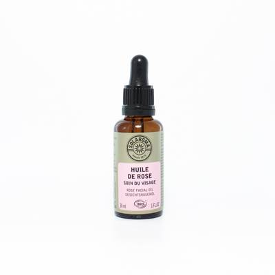 huile de rose - Solaroma - Visage