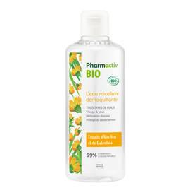 L'eau micellaire démaquillante - Pharmactiv Bio - Visage