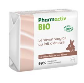 Le savon au lait d'ânesse - Pharmactiv Bio - Hygiène