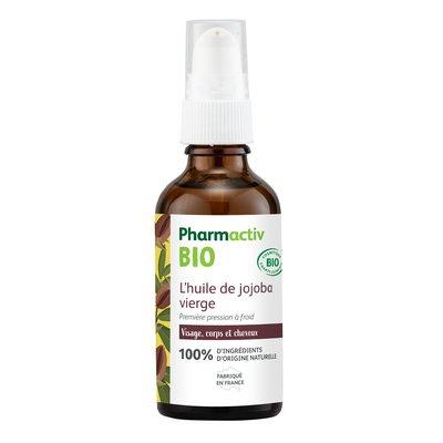 L'huile végétale vierge de jojoba - Pharmactiv Bio - Massage et détente
