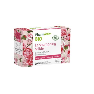 Le shampoing solide Cheveux normaux - Pharmactiv Bio - Cheveux