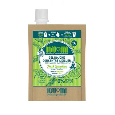 Refill Shower Care In Concentrate To Dilute Verbena / Citrus Surgras - IOUMI-PROVENCE - Hygiene - Baby / Children