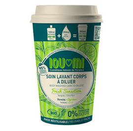 image produit Ioumi starter kit soin lavant corps verveine / agrumes surgras