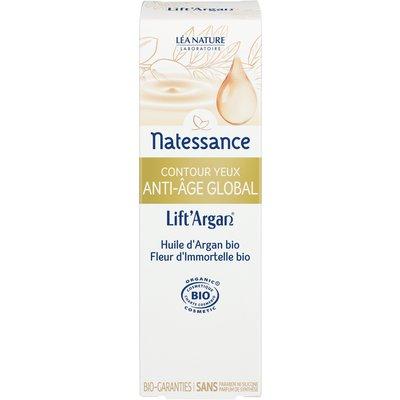 Contour yeux anti-âge global - Lift'Argan - Natessance - Visage