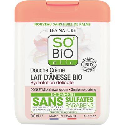 Donkey milk shower cream - Gentle moisturising - So'bio étic - Hygiene