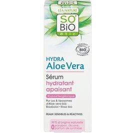 image produit Sérum hydratant apaisant, peaux sensibles et réactives - hydra aloe vera
