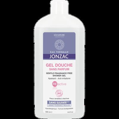Gel douche sans parfum apaisant - REactive - Eau Thermale Jonzac - Hygiène