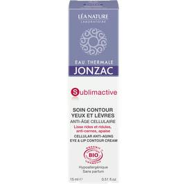 Cellular anti-aging eye and lip contour cream - Sublimactive - Eau Thermale Jonzac - Face