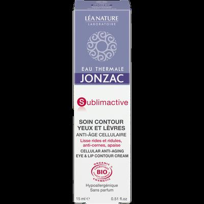 Soin  contour yeux et lèvres, anti-âge cellulaire - Sublimactive - Eau Thermale Jonzac - Visage