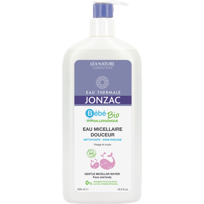 Gentle micellar water - Bébé Bio - Eau Thermale Jonzac - Baby / Children
