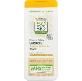 Douche crème surgras, nourrit - au beurre de Karité Bio - So'bio étic - Hygiène
