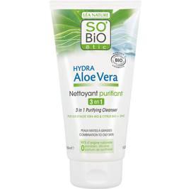 image produit Nettoyant purifiant 3 en 1, peaux mixtes à grasses - Hydra Aloe Vera