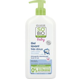 Extra-gentle cleansing gel - body and hair - Baby - So'bio étic - Baby / Children