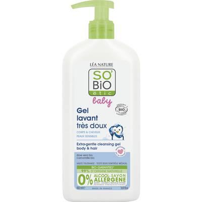 Gel lavant très doux - Corps & Cheveux - Baby - So'bio étic - Bébé / Enfants