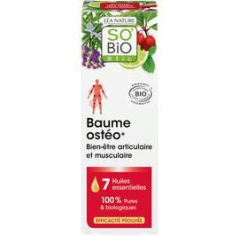 Baume Ostéo+, bien-être musculaire et articulaire, aux 7 huiles essentielles - So'bio étic - Massage et détente