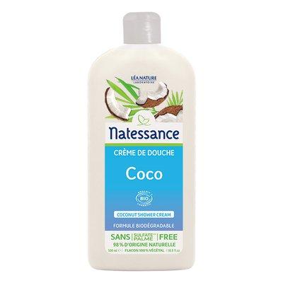 Crème de douche coco - Natessance - Hygiène