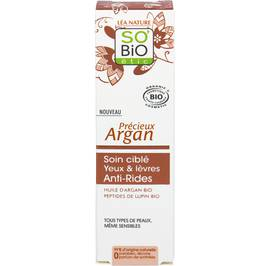 Anti-Wrinkle Eye and lip Targeted Care - Précieux Argan - So'bio étic - Face