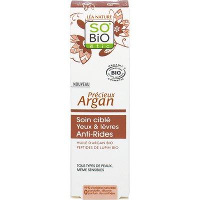 Anti-Wrinkle Eye and lip Targeted Care - Précieux Argan - So'bio étic - Face