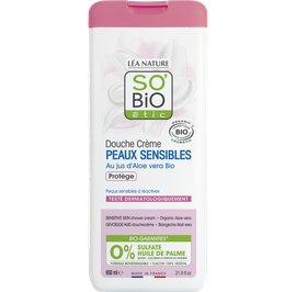 Sensitive Skin Shower cream - Organic Aloe vera - So'bio étic - Hygiene