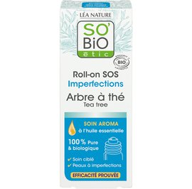 Roll-on SOS imperfections - Tea tree - So'bio étic - Face