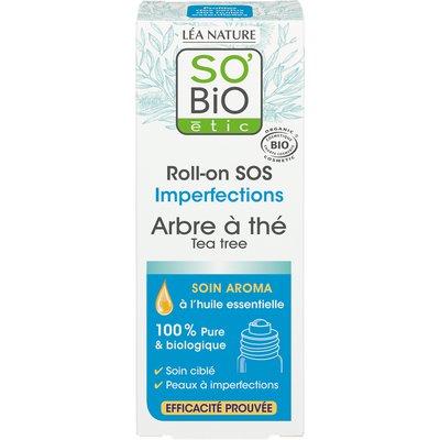 Roll-on SOS imperfections - Arbre à thé - So'bio étic - Visage