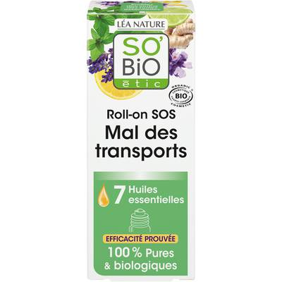 Roll-on SOS mal des transports - So'bio étic - Health - Massage and relaxation