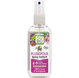image produit Spray traitant pludepoux, aux 6 huiles essentielles bio