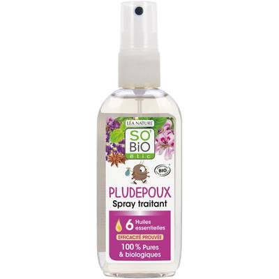 Spray traitant Pludepoux, aux 6 huiles essentielles bio - So'bio étic - Baby / Children - Massage and relaxation