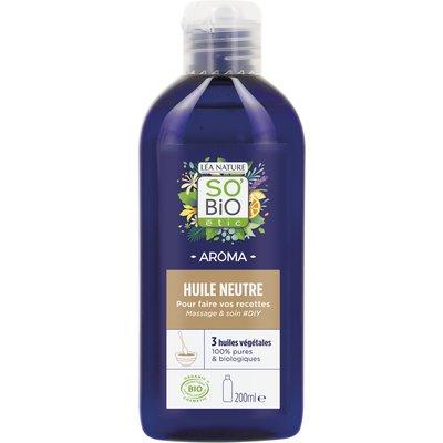 Huile neutre, massage et soin - So'bio étic - Massage et détente - Ingrédients diy