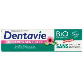 Dentifrice Gencives sensibles - Aloe vera - Dentavie - Hygiène