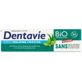 image produit Dentifrice haleine fraîche - eau florale de menthe bio