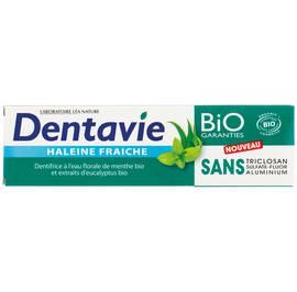 image produit Dentifrice haleine fraîche - menthe et eucalyptus bio