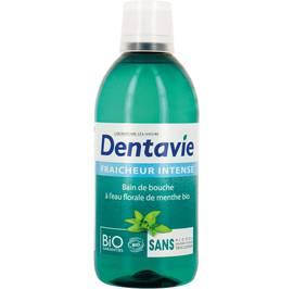 image produit Bain de bouche fraîcheur intense à l'aloe vera et eau florale de menthe bio